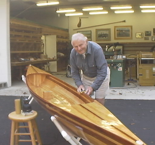 Wood Rowing Shell Plans Details Seen Boat Plan